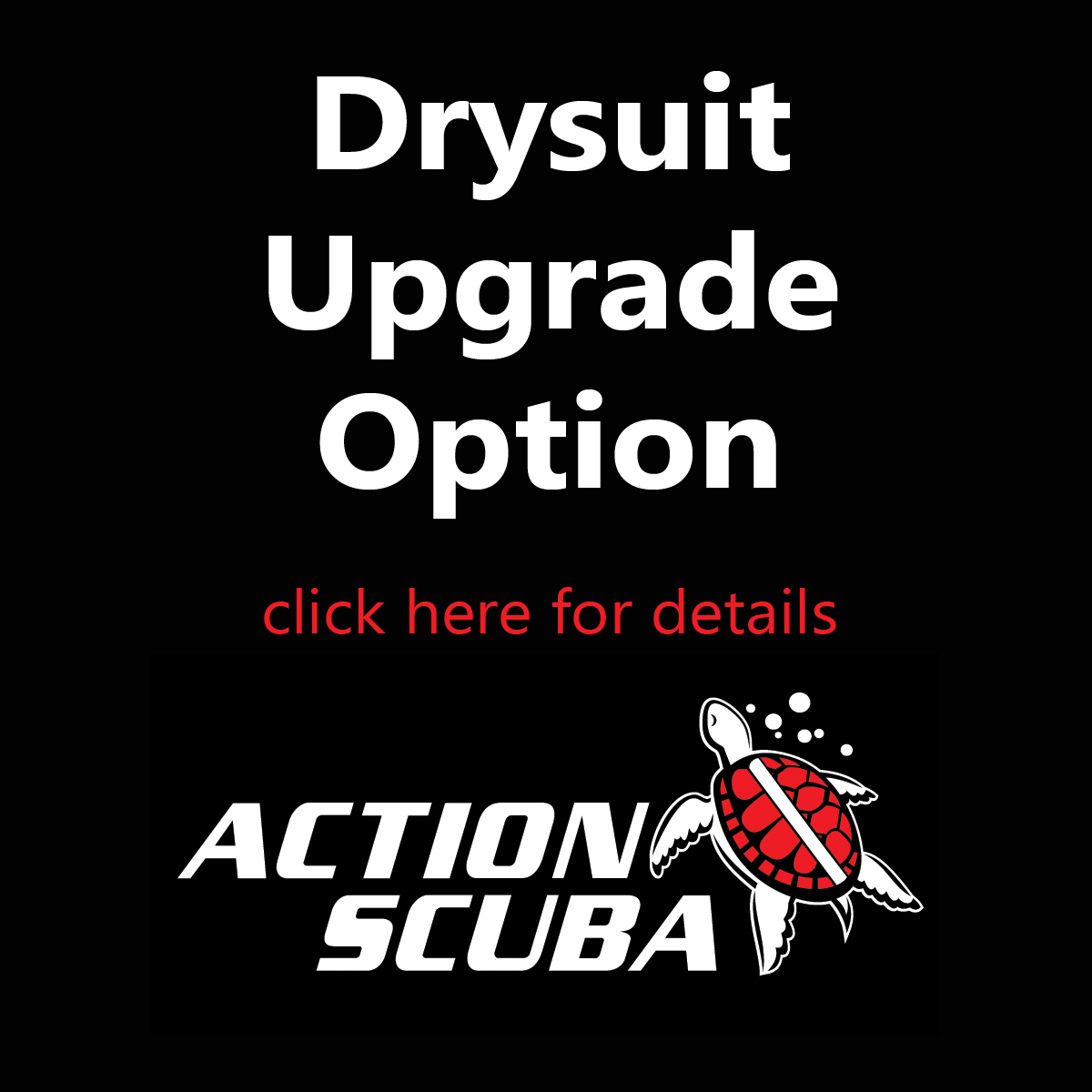 Learn to scuba dive in a drysuit