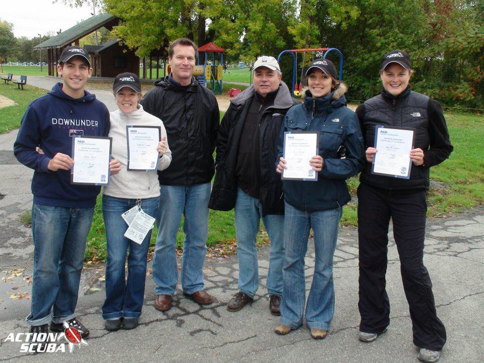 PADI Instructor Exam IE Montreal