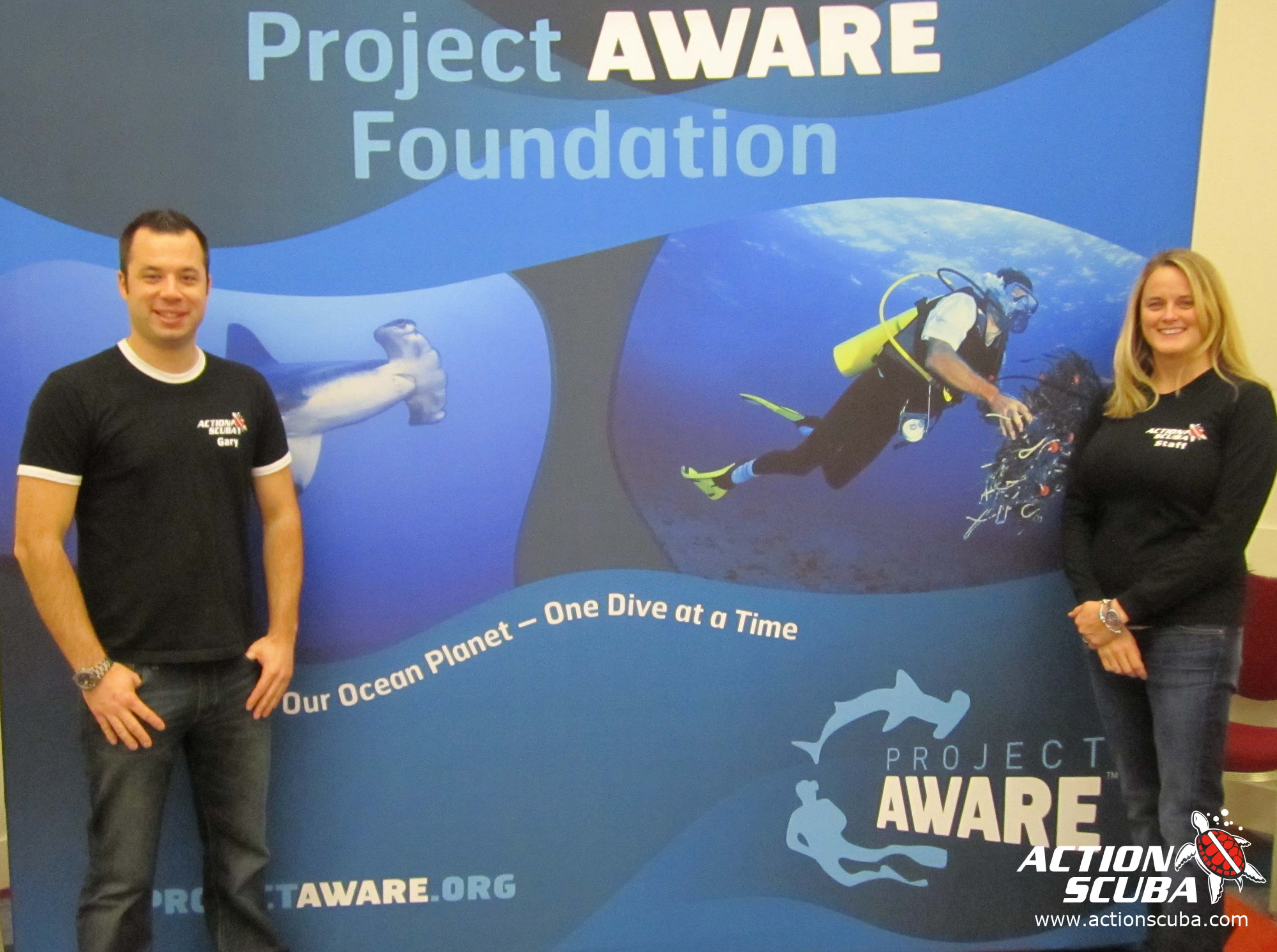 Project AWARE Action Scuba 2012