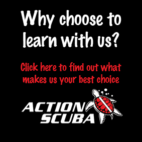 Why learn to dive with Action Scuba Montreal